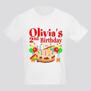2ND BIRTHDAY Kids Light T-Shirt