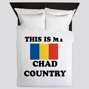 This Is My Chad Country Queen Duvet