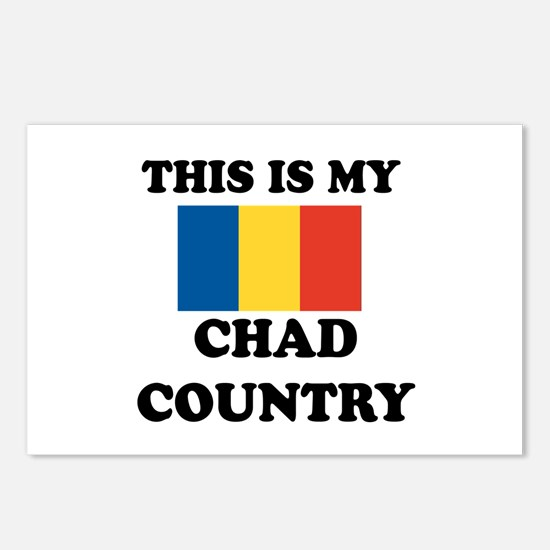 This Is My Chad Country Postcards (Package of 8)