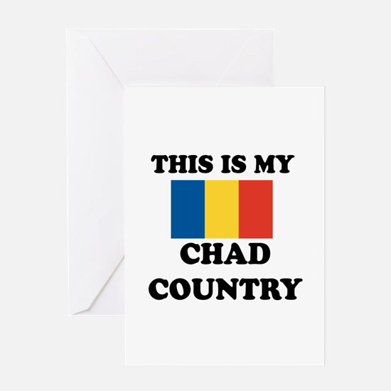 This Is My Chad Country Greeting Card