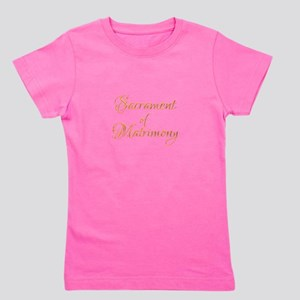 Sacrament of Matrimony Girl's Tee