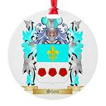 Shon Round Ornament