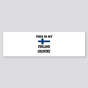This Is My Finland Country Sticker (Bumper)