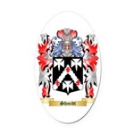 Shmidt Oval Car Magnet