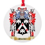 Shmider Round Ornament