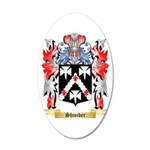 Shmider 20x12 Oval Wall Decal