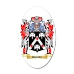 Shmider 35x21 Oval Wall Decal