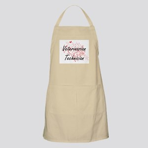 Veterinarian Technician Artistic Job Design Apron