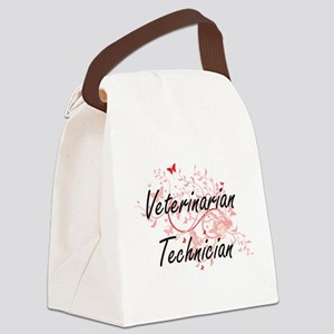 Veterinarian Technician Artistic Canvas Lunch Bag