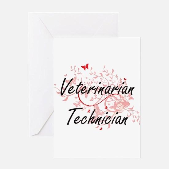Veterinarian Technician Artistic Jo Greeting Cards