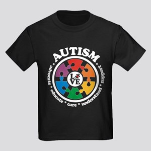 LOVE Autism Awareness - DRK T-Shirt