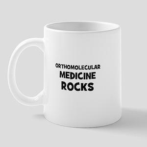 Orthomolecular Medicine Rocks Mug