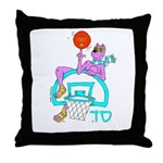 SABRA DOG(Basketball)Jewish Throw Pillow