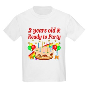 Unique 2nd Birthday Kids T Shirts