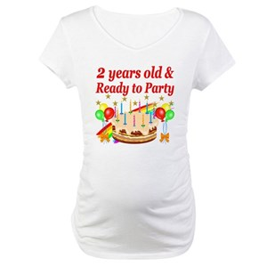 Unique 2nd Birthday Maternity T Shirts