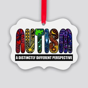 BEST Autism Awareness Picture Ornament