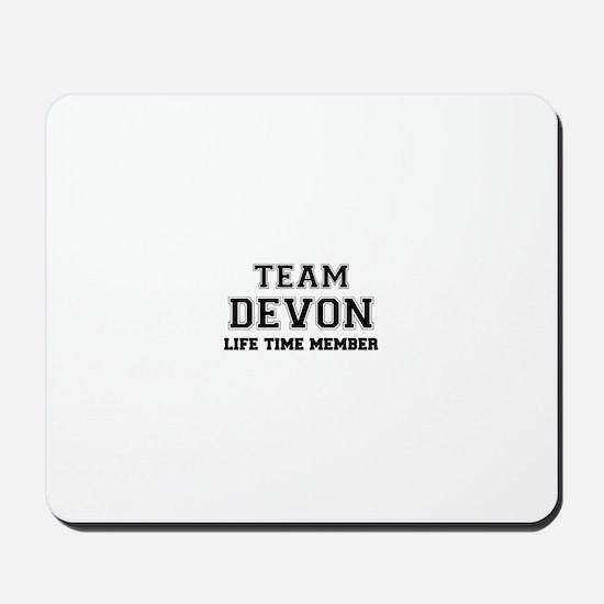 Team DEVON, life time member Mousepad