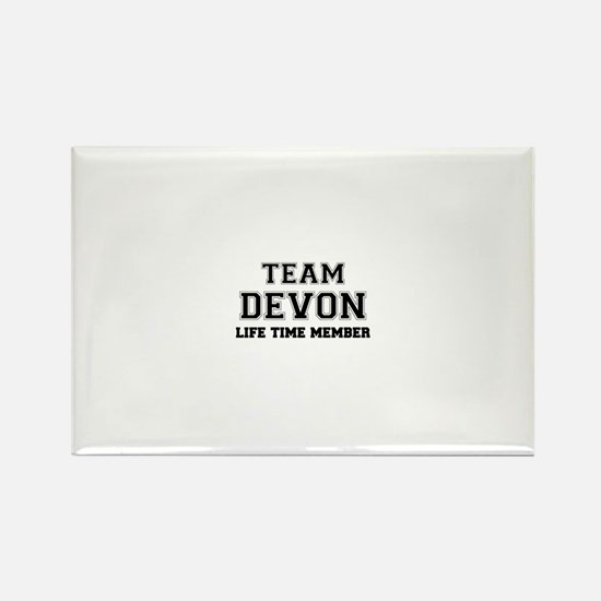 Team DEVON, life time member Magnets