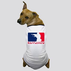 Major League Nephew 2 - NAVY Dog T-Shirt