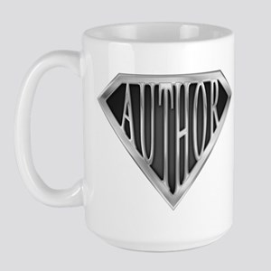 SuperAuthor(metal) Large Mug
