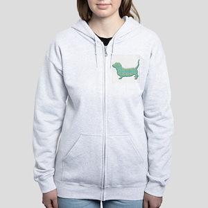 Paisley Basset Sweatshirt