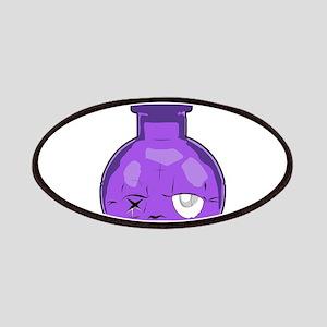 purple bottle Patch
