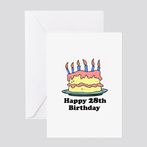 Happy 28th birthday greeting cards cafepress happy 28th birthday greeting card bookmarktalkfo Gallery