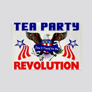 """Tea Party Revolution"" Magnet"