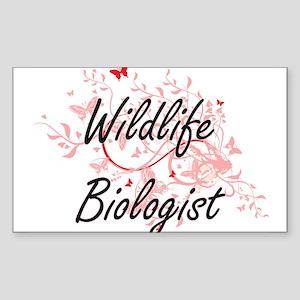 Wildlife Biologist Artistic Job Design wit Sticker