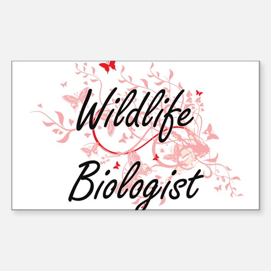 Wildlife Biologist Artistic Job Design wit Decal