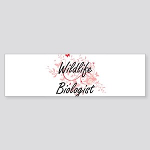 Wildlife Biologist Artistic Job Des Bumper Sticker