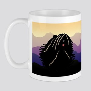 Puli Purple Mountain Mug