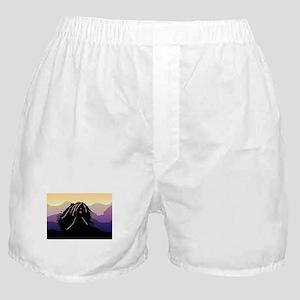 Puli Purple Mountain Boxer Shorts