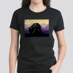 Puli Purple Mountain Women's Dark T-Shirt