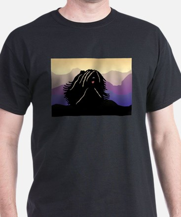 Puli Purple Mountain T-Shirt