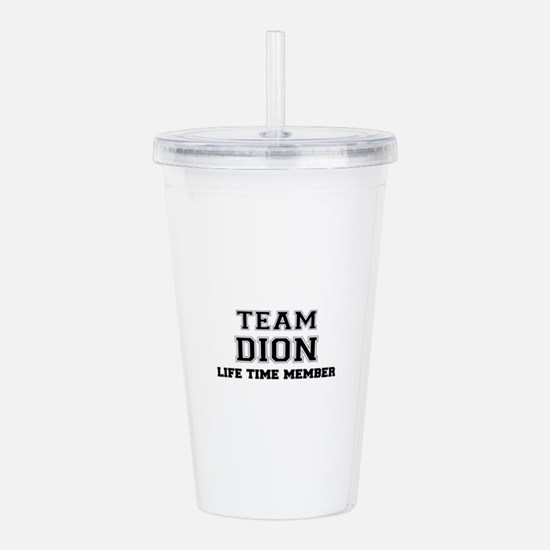 Team DION, life time m Acrylic Double-wall Tumbler