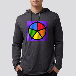 Fat Fetish Rainbow Wedges Long Sleeve T-Shirt