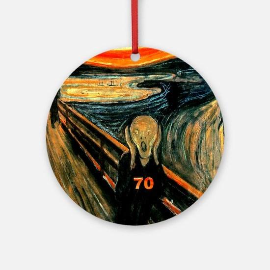 Scream 70th Ornament (Round)