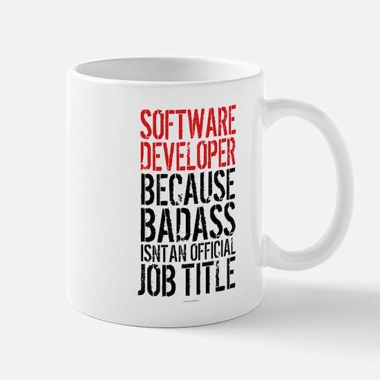Badass Software Developer Mugs