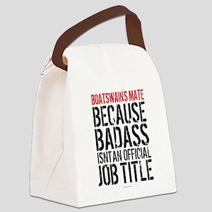 Badass Boatswain's Mate Canvas Lunch Bag