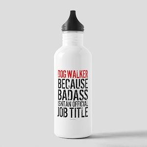 Badass Dog Walker Stainless Water Bottle 1.0L