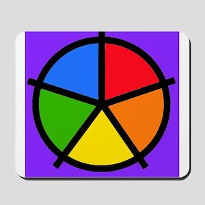 Fat Fetish Rainbow Wedges Mousepad