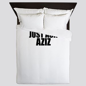 Just ask AZIZ Queen Duvet