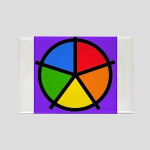 Fat Fetish Rainbow Wedges Magnets