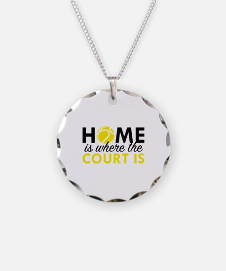 Home Is Where The Court Is Necklace