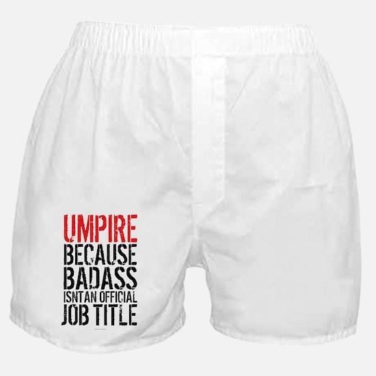Badass Umpire Boxer Shorts