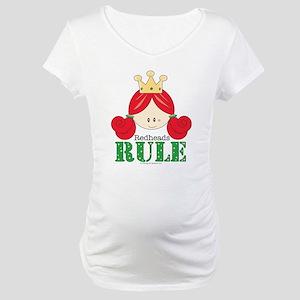Redheads Rule Redhead Maternity T-Shirt