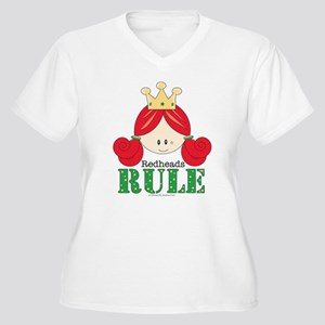 Redheads Rule Redhead Women's Plus Size V-Neck T-S