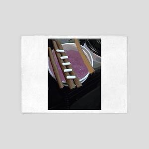 purple cup blunts bars 5'x7'Area Rug