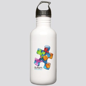 puzzle-v2-5colors Stainless Water Bottle 1.0L
